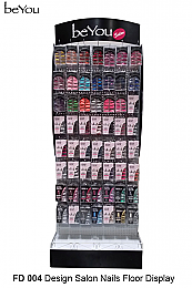 BEYOU DESIGN SALON NAIL FLOOR DISPLAY FD 004